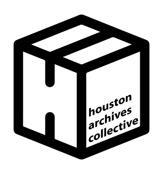 logo for Houston Archives Collective, Event Sponsor for the Houston Archives Bazaar 2017.