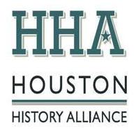 logo for Houston History Alliance, Event Sponsor for the Houston Archives Bazaar 2017.