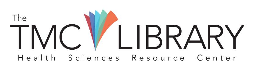 Logo for the Texas Medical Center Library, event sponsor for the Houston Archives Bazaar 2017.